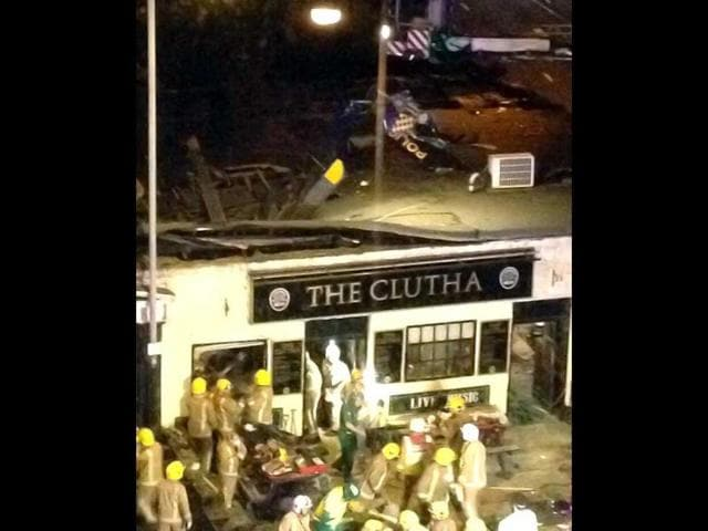 Scene-of-the-helicopter-crash-at-the-Clutha-Bar-in-Glasgow-taken-from-the-Twitter-feed-of-Janney-h-AP-Photo