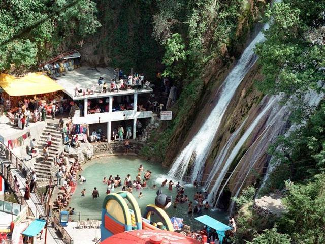 Kempty falls,Mussoorie,restoration