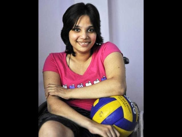 Teenager-Riya-Gupta-from-Delhi-has-been-part-of-a-wheelchair-rugby-team-for-the-past-five-years-HT-Photo