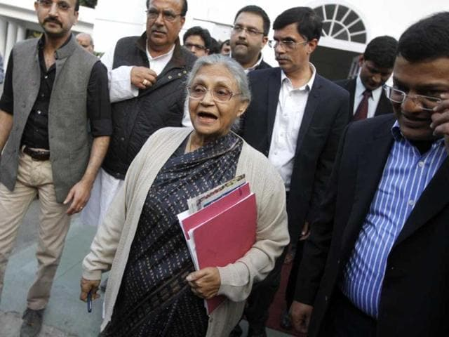 Sheila Dikshit,Delhi government,2013 Assembly elections