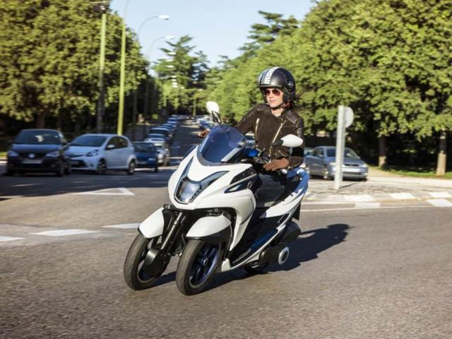 Yamaha And Mbk Introduce New 3 Wheeled Scooters Autos Hindustan