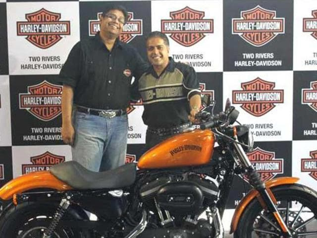 Harley opens up first showroom in Pune
