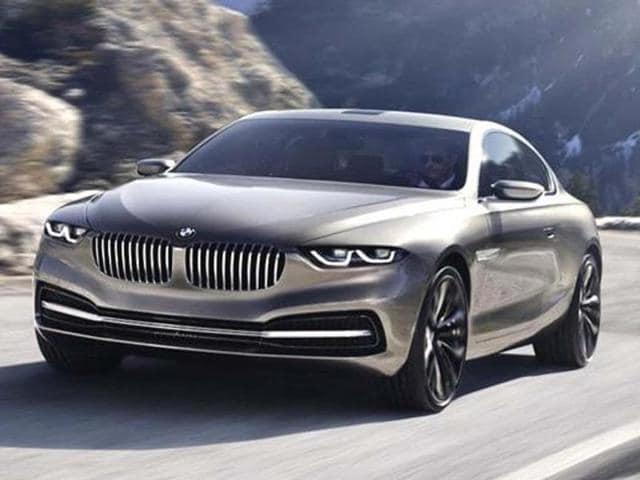 BMW Grand Lusso coupe concept