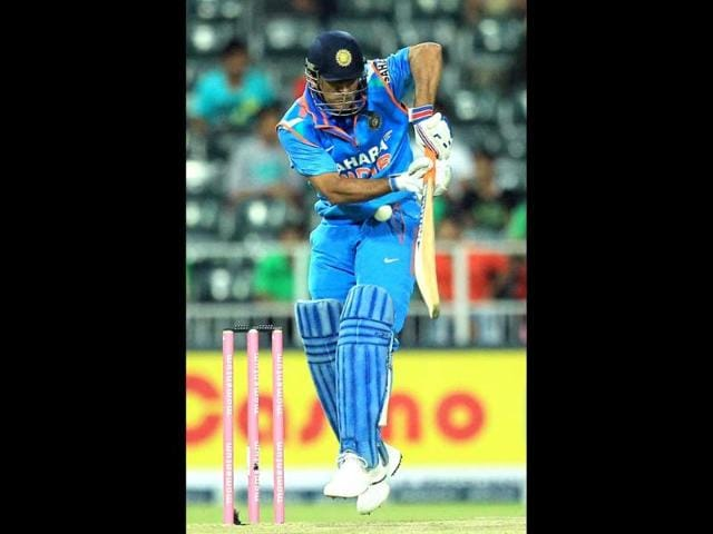 Mahendra Singh Dhoni,Wanderers Stadium,India tour of South Africa