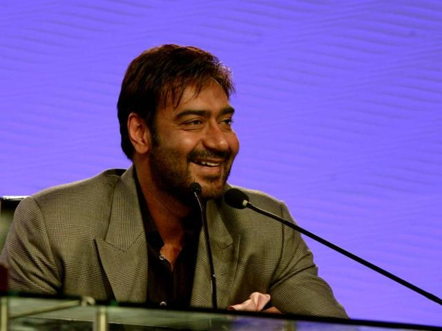 In-conversation-with-Vir-Sanghvi-at-the-HT-leadership-Summit-Ajay-Devgn-said-he-counted-Zakhm-and-Bhagat-Singh-among-his-best-performances-He-took-the-credit-for-being-the-first-mainstream-actor-to-dabble-in-parallel-cinema