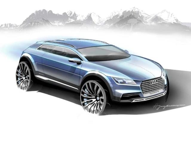 Audi crossover concept coming to Detroit,audi two door sports suv car,audi suv