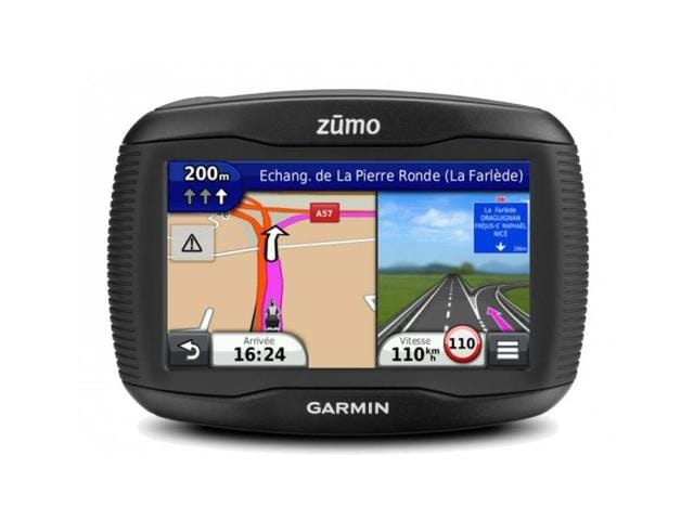Garmin equips motorcycle GPS with tire pressure sensors