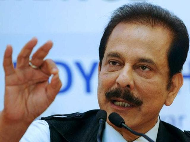 Sahara chief taken by road for SC appearance