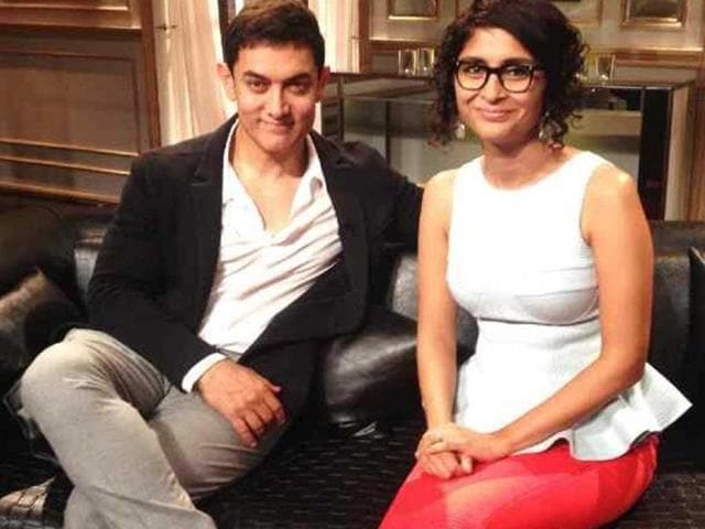 Aamir Khan and Kiran Rao will grace Karan Johar