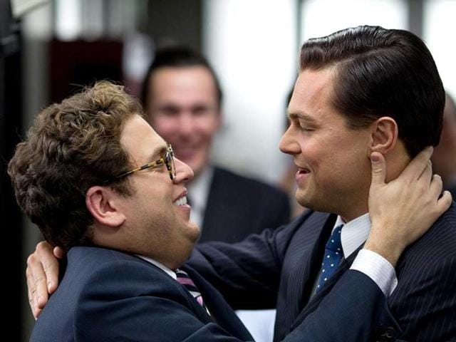 Jonah Hill,Leonardo DiCaprio,The Wolf of Wall Street