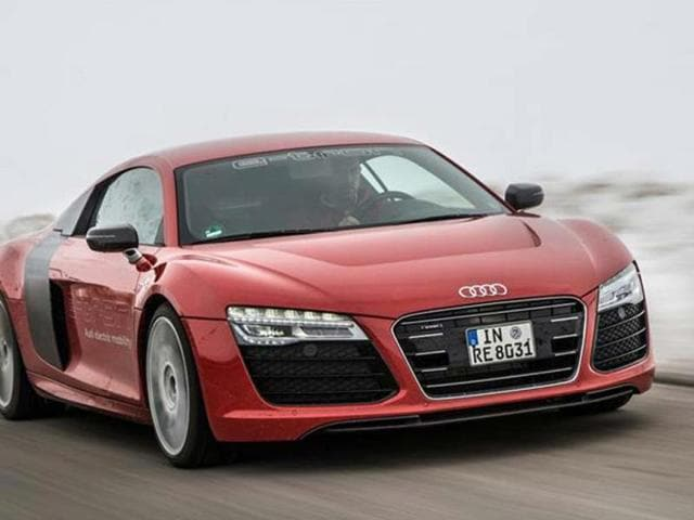 Audi's to limit production run of R8-etron