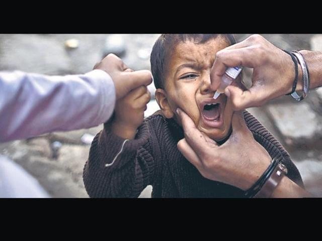 Polio eradication,WHO,Dr Pushpa Bishnoi