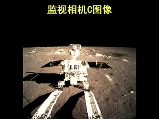 Jade Rabbit,China moon rover,moon