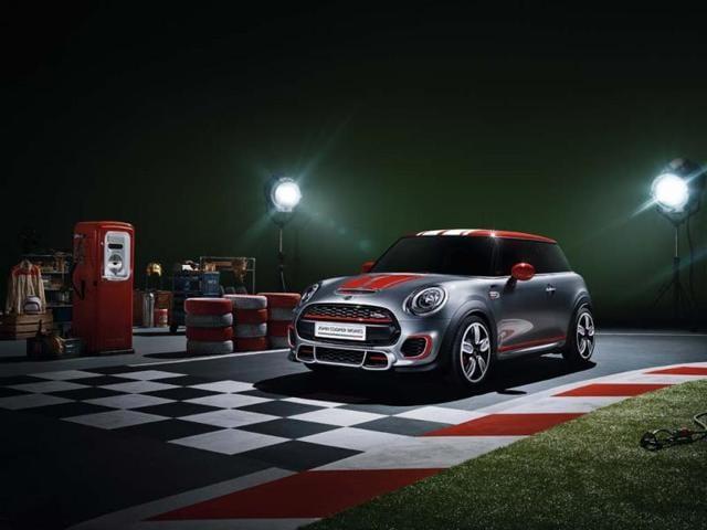 John Cooper Mini concept set to storm Detroit,British car