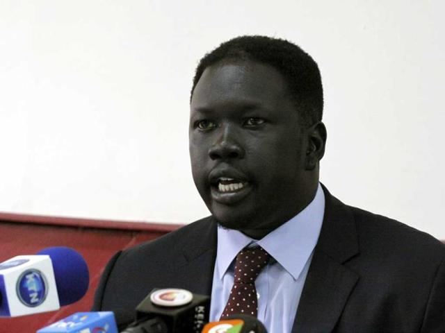 Choul-Laam-the-chief-of-staff-for-the-secretary-general-for-the-ruling-Sudanese-Peoples-Liberation-Movement-speaks-during-a-press-conference-in-Nairobi-Kenya-AP-Photo