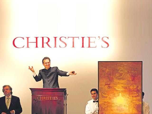 Christie's Mumbai auction