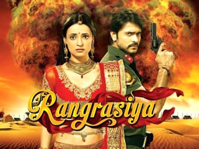 Sanaya-Irani-Ashish-Sharma-in-Colors-TV-serial-Rangrasiya
