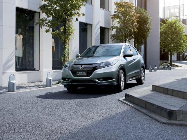 Honda's new crossover launches in Japan,headed for US in 2014,hybrid engine