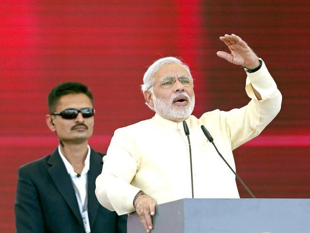 Modi hits out at Delhi CM Kejriwal on governance