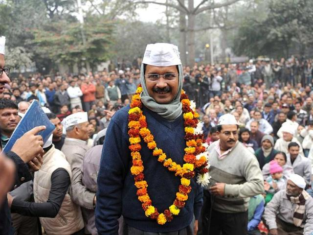 A-photo-of-Ramlila-Maidan-on-the-eve-of-AAP-convener-Arvind-Kejriwal-s-oath-taking-ceremony-as-Delhi-chief-minister-in-New-Delhi-PTI-Photo
