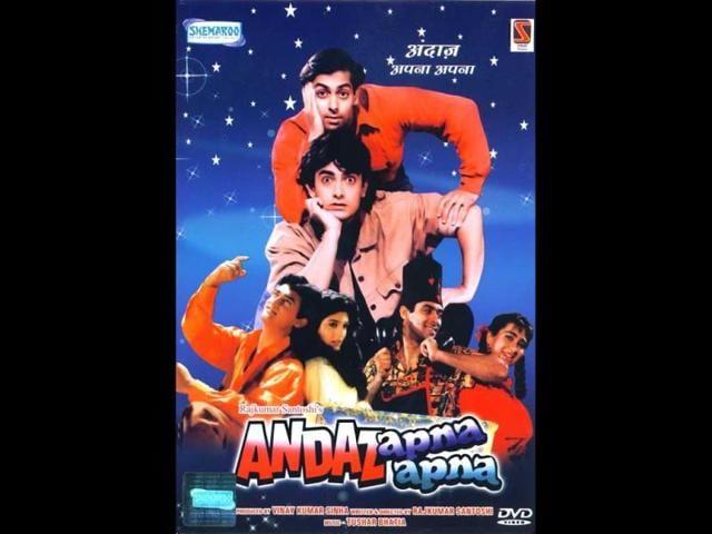 Aamir Khan,Andaz Apna Apna,Salman Khan