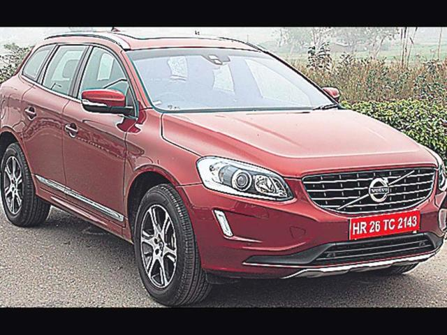 Volvo gives its XC60 a good makeover,XC60,volvo suv