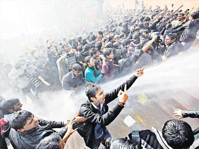 Raisina Hill,Anti-rape protests,PMO