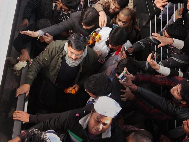 Arvind Kejriwal,Aam Aadmi Party,swearing-in ceremony