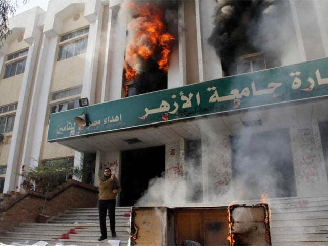 Cairo university,Muslim Brotherhood,Mohamed Morsi