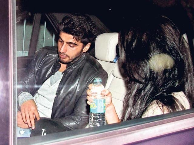 Arjun Kapoor looks tired. Too much of fun, was it?