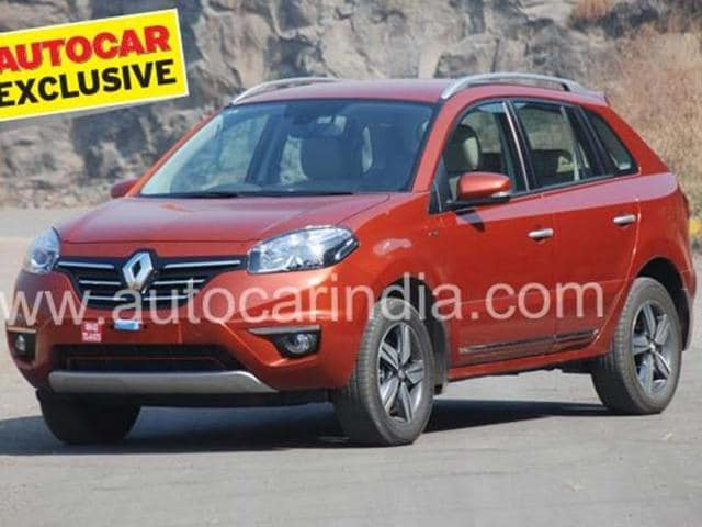 Renault's new Koleos SUV facelift review,test drive,Koleos SUV