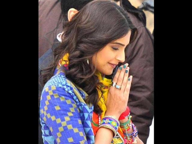 Khoobsurat is produced by Rhea Kapoor and directed by Shashanka Ghosh.