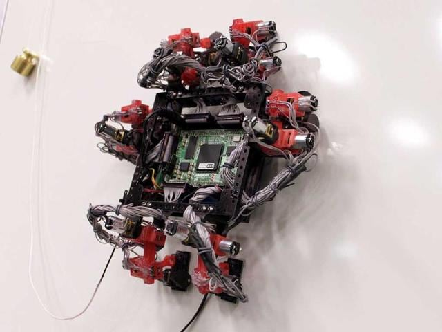 climbing robot,International Space Station,Abigaille III