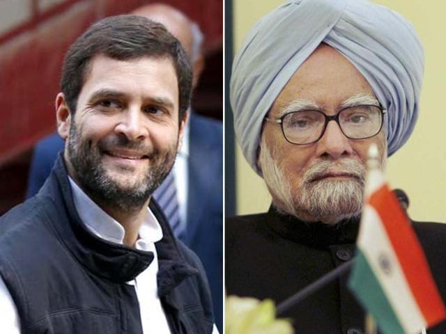 Prime Minister Manmohan Singh,Rahul Gandhi,Congress