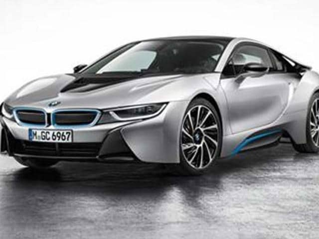 BMW to display i8 hybrid at Auto Expo,i8 hybrid sports coupé,BMW i8