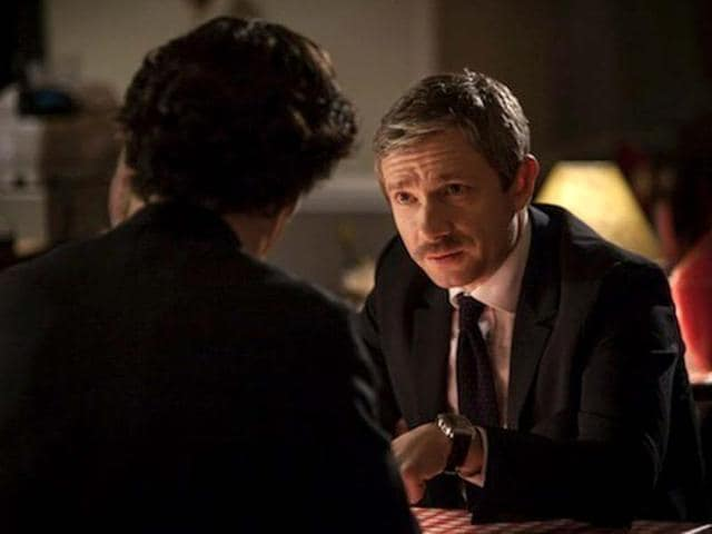 Sherlock returns,Martin Freeman,Sherlock