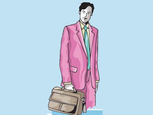 Cool formal is in: men's office-wear becomes slimmer, brighter, bolder