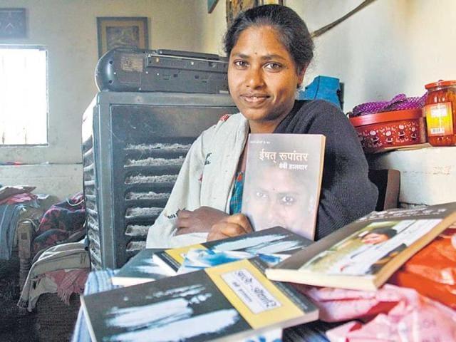 Baby-Halder-at-the-house-of-Prabodh-Kumar-for-whom-she-works-as-a-maid-in-Gurgaon-Manoj-Kumar-HT-Photo