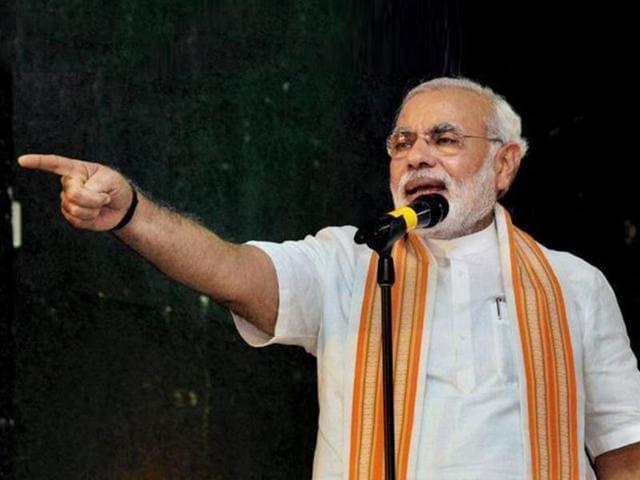 Narendra Modi,nancy powell,Gandhinagar