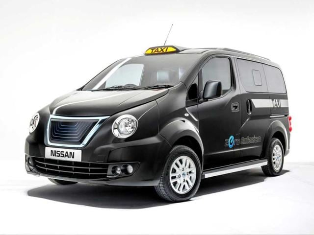 Japanese carmaker Nissan,iconic london taxi,London's black cabs