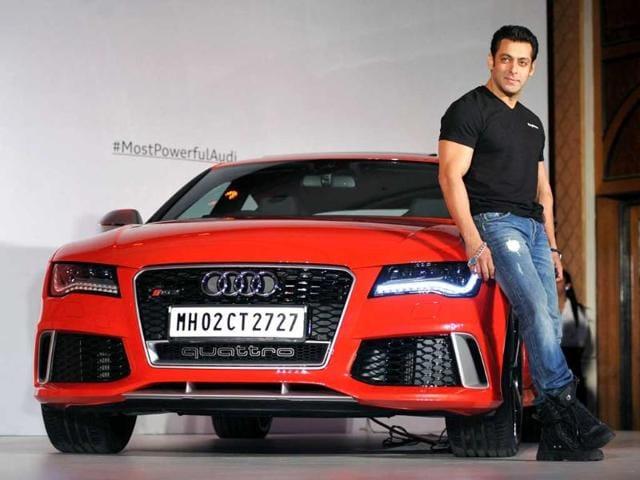 Audi,Audi RS 7 Sportback,Salman Khan