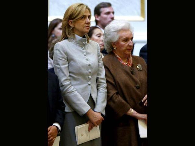 Juan Carlos,princess Cristina of Spain,financial crimes