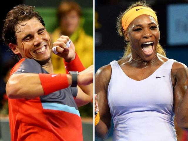 Rafael Nadal,Serena Williams,Serena Williams