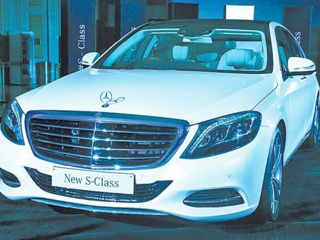 The-Mercedes-Benz-S500-which-was-launched-in-New-Delhi-on-Wednesday-Photo-HT-Sonu-Mehta