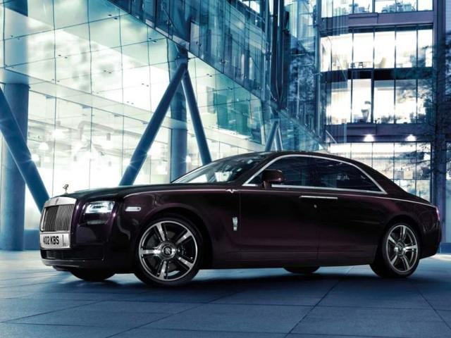 Rolls-Royce Motor Cars announces Ghost V-specification for India