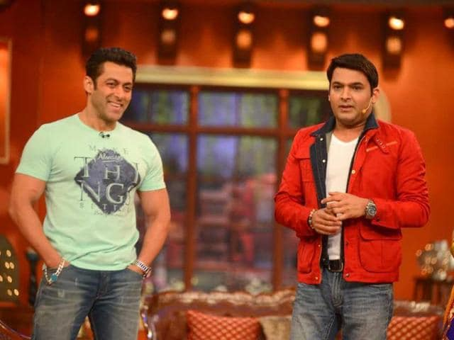 Salman Khan visited the sets of Comedy Nights with Kapil recently to promote his film Jai Ho. The film