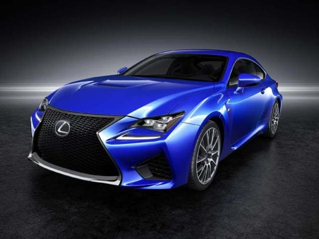 Lexus RC F with 450hp to debut in Detroit