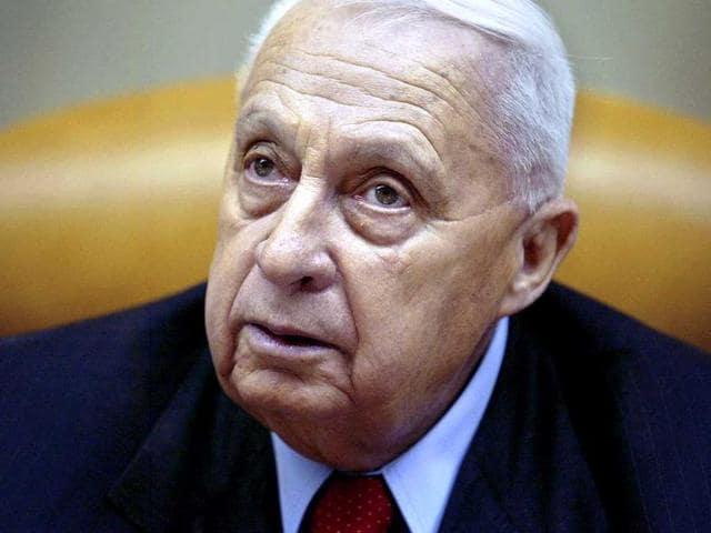 Ariel Sharon,Former Israeli PM. Sharon dead,Army Radio