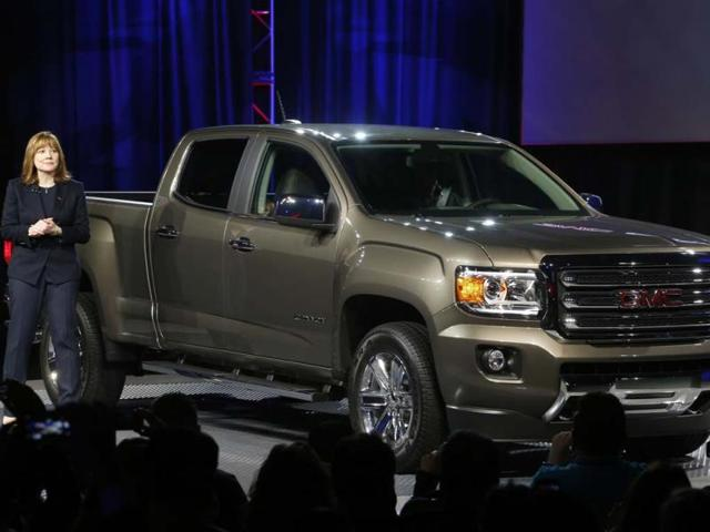 New GM chief Mary Barra starts off with pickup launch,Mary Barra,General Motors