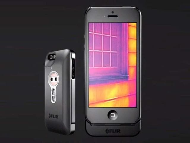 new iPhone cover,heat camera,FLIR One cover